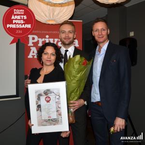 Prisutdelning Årets Prispressare 2014