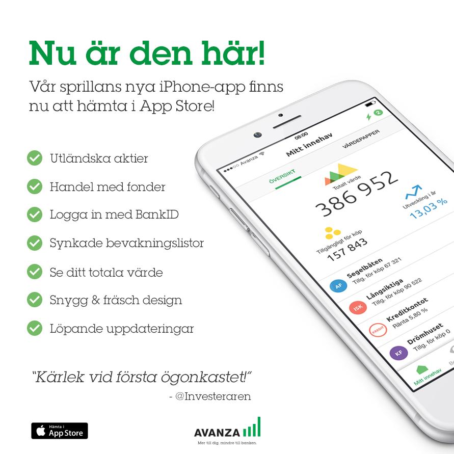 Vi lanserade äntligen vår nya iPhone-app