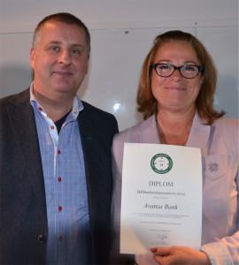 Dr Tony Aperia och vår CFO Birgitta Hagenfeldt