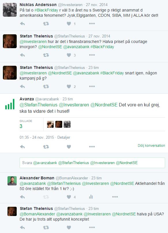 Idén föddes efter Stefan Thelenius tweet